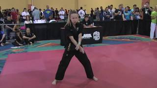 Sammy Smith 2014 US Open World Karate Championships