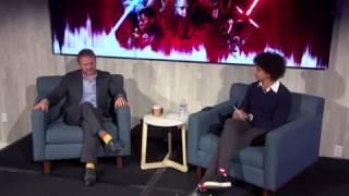 Rian Johnson Facebook LIVE Q&A for Star Wars: The Last Jedi (11/28/17)