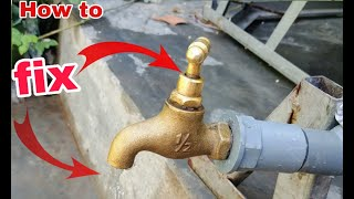 How to fix copper hose leaks simple water unexpected effect