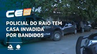 Policial do Raio tem casa invadida por bandidos