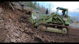 Track loader repairs