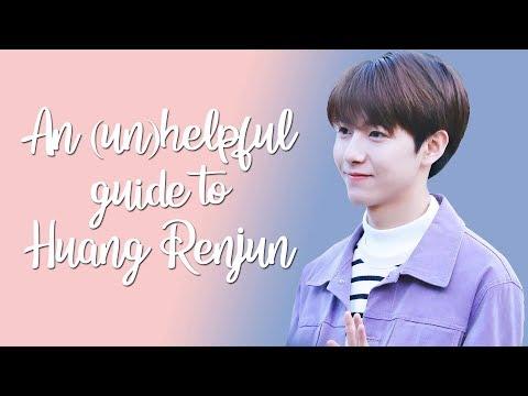 An (un)helpful guide to Huang Renjun