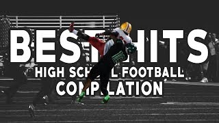 Biggest High School Football Hits | Best HS Hits Compilation