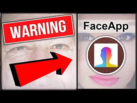 Faceapp | Viral App Downloads your ENTIRE LIBRARY? | Old Faceapp