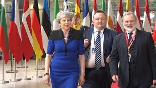 La Première ministre britannique Theresa May arrive pour le sommet de l'UE | AFP Images