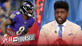 Lamar Jackson can't open the door for new mobile quarterbacks — Acho | NFL | SPEAK FOR YOURSELF