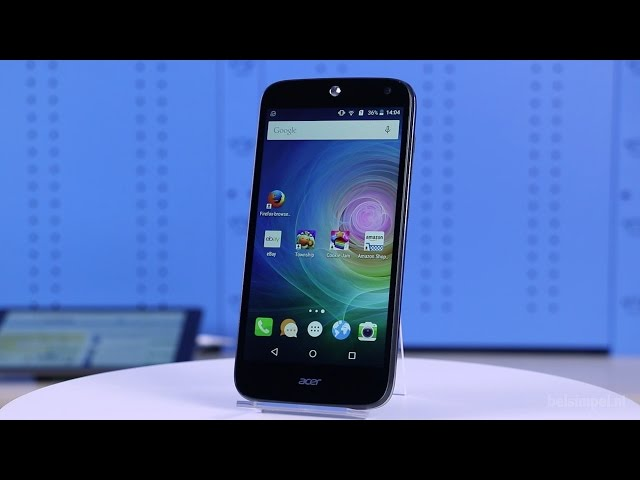 Belsimpel-productvideo voor de Acer Liquid Z630s Duo