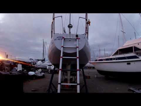 01 - Projet ALAMA - Début des travaux voilier First 30