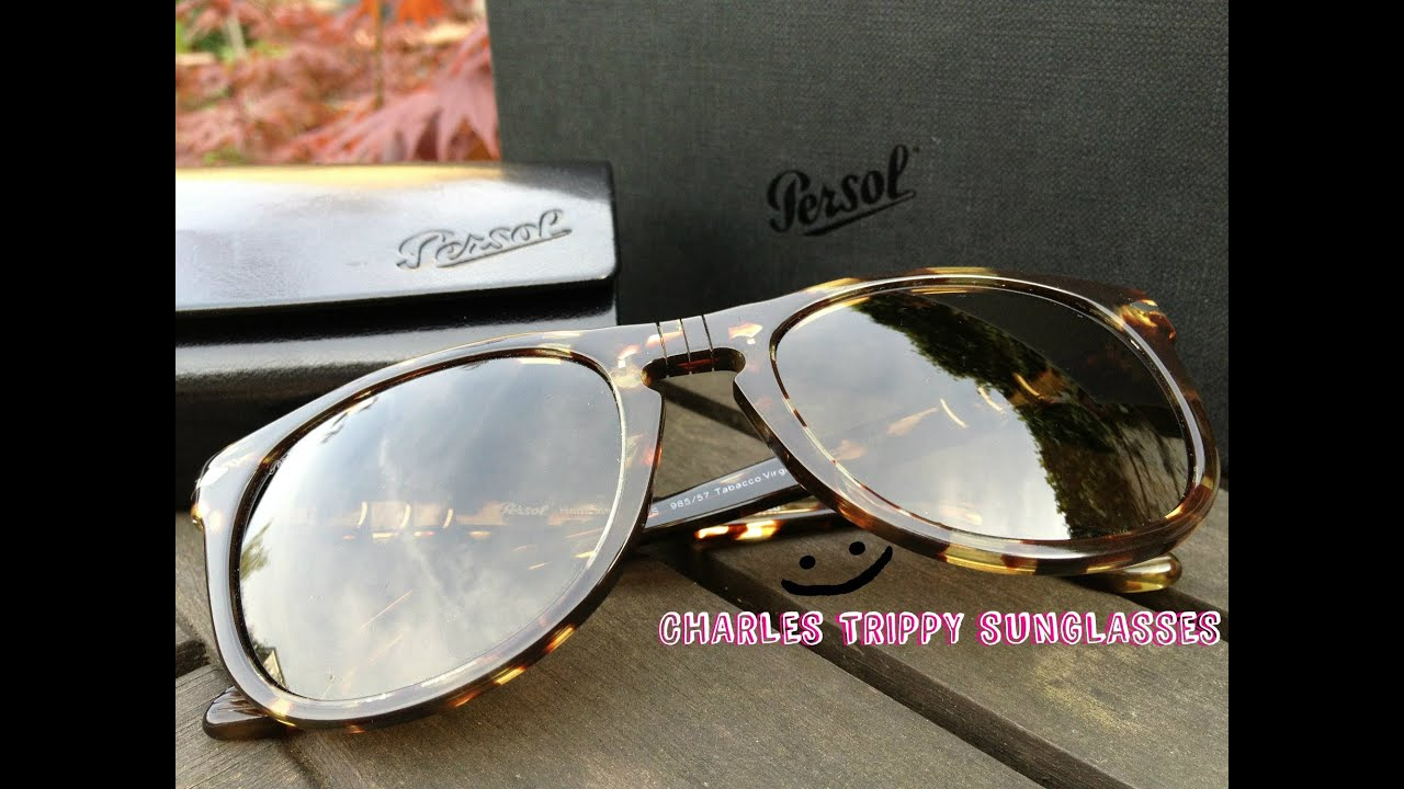 Charles Trippy Persol Sunglasses Tabacco Virginia Size 54 ...