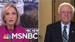 Senator Bernie Sanders: 2020 Presidential Run Not An Easy Decision   Andrea Mitchell   MSNBC