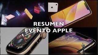 Resumen Apple Event iPhone XS, iPhone XS MAX, iPhone XR, Apple Watch 4 edición nada extraordinario