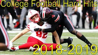 College Football Biggest Hits (2018-19)