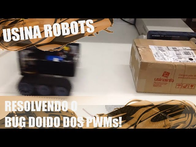 REVISANDO O BUG DOIDO DOS PWMs | Usina Robots US-2 #111