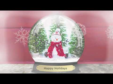 GC GiftPass with Snow Globe Video