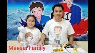 เกมส์อาหารพิสดาร (Challenges)  Maesai Family -แม่สายแฟมิลี่