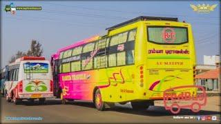🔴GVD-SLSBS-Quick Tiger bus ride ||Tamil Nadu village roads||TeamKBS