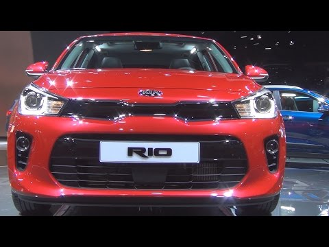 Kia Rio 1.0 T-GDi 100 hp ISG BVM6 (2017) Exterior and Interior in 3D