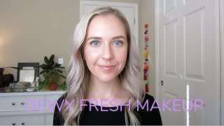 DEWY, FRESH MAKEUP | For Oily Skin