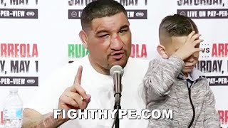 """""""SUCK MY D*CK"""" - CHRIS ARREOLA FULL POST-FIGHT EMOTIONAL RANT ON JUDGES AFTER LOSS TO ANDY RUIZ"""