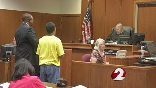 Courtroom outburst after teen sentenced