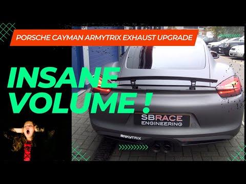 Armytrix Exhaust: 2014 Porsche Cayman S