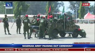 Show Of Gallantry As Nigerian Army Passes Out Graduands Pt.8 |Live Event|
