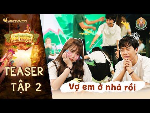 Thiên đường ẩm thực 6 | Teaser Tập 2: Trường Giang bóc mẽ Cris Phan vì ăn mà quên mất vợ mình là ai?