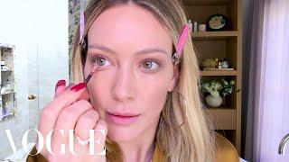 Hilary Duff's Busy Mom Makeup Routine   Beauty Secrets   Vogue