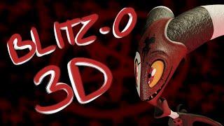 3D Character Creation in Blender - Blitz-o from Helluva Boss