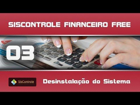 03 Desinstalação - Curso Siscontrole Financeiro Free