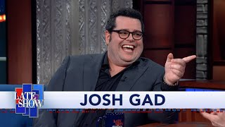 """Josh Gad: Working With Hugh Laurie Was A """"Pain In The Ass"""""""