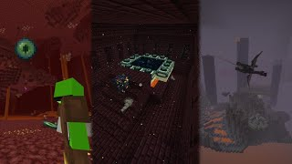 Beating Minecraft Without Leaving The Nether...