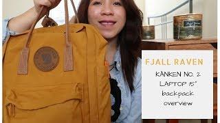 """Fjallraven Kanken No.2 Laptop 15"""" color acorn review #fjallravenkanken #fallbags #fjallravenacorn"""