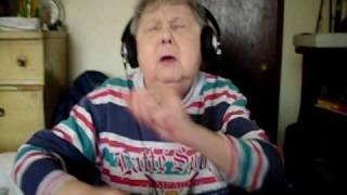 Funniest Grandma trying to rap