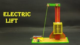 School Science Projects | Electric Lift