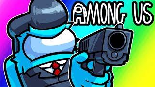 Among Us Funny Moments - Targeting Crew Mates as Imposter! (Bounty & Gun Mod)