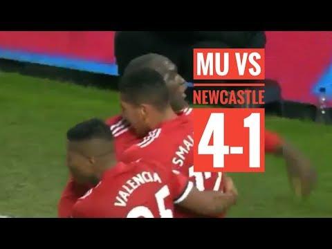 full highlights MU vs Newcastle 4-1 (11/811/2017)