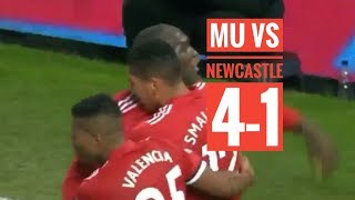 full highlights MU vs Newcastle 4-1 (11/811/2017)
