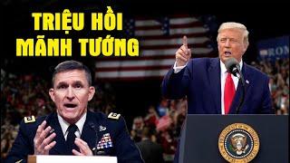 Đúng vào giờ phút quyết định TT Trump triệu hồi Mãnh Tướng trở về hoàn thành Sứ mệnh đặc biệt