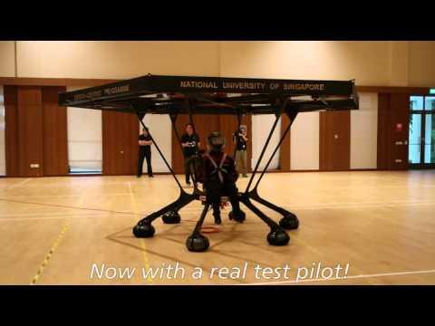 Студенти од Сингапур градат летачка машина
