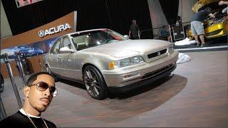 Ludacris' 1993 Acura Legend - 2015 SEMA Show