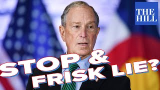 Tim Black: Did Bloomberg lie about stop and frisk?