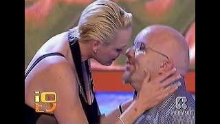 BRIGITTE NIELSEN - Interview ('Lo Show dei Record' Italian TV 2006)