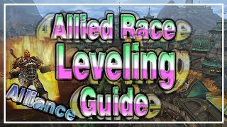 ULTIMATE ALLIED RACE LEVELING GUIDE│Start→Finish│Alliance