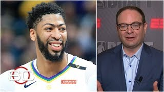 Lakers want Anthony Davis deal done by July 6th to create more cap space - Woj   SportsCenter