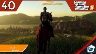 Farming Simulator 19 - La Granja de DSAINA - 40 Que opinais ? | Gameplay Español