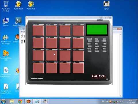 Como descargar caja de ritmos virtual caj-mpc full (HD)