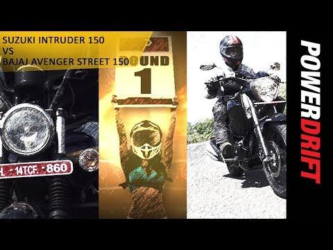 Quick Comparo : Suzuki Intruder 150 vs Bajaj Avenger Street 150 : PowerDrift
