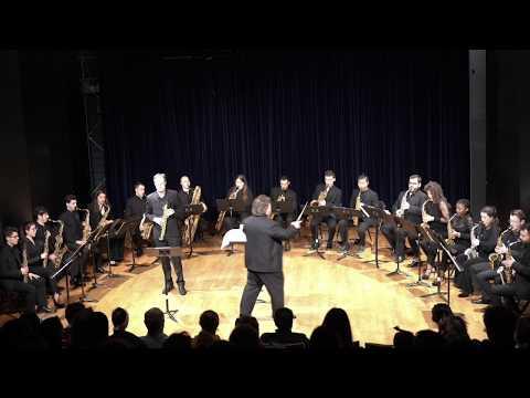 Danzón 6 Arturo Márquez Carl-Emmanuel Fisbach Mallorca Saxophone Orchestra conducted by Henrie Adams