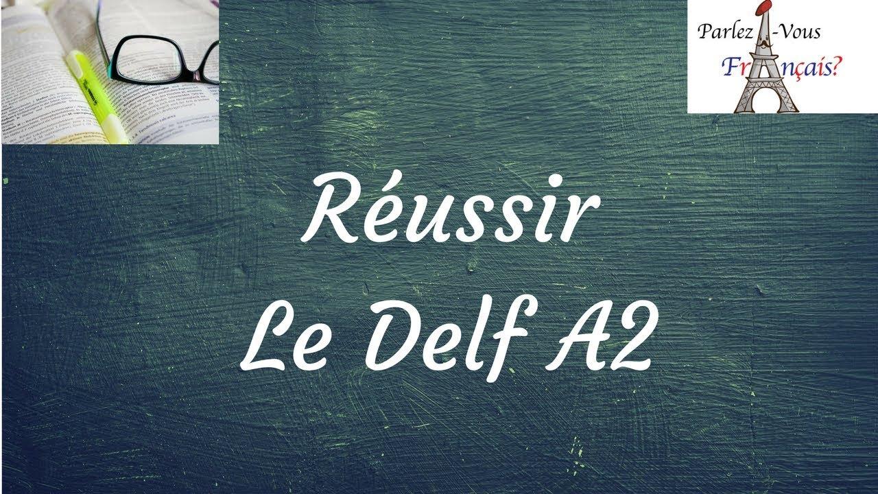 тест-delf-a2